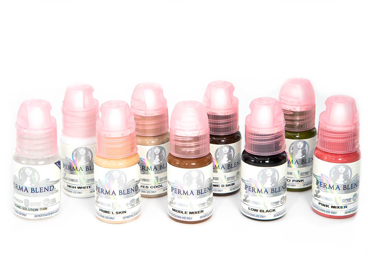 Areola Color Set 8 Pigments